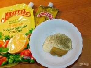 Кролик в сливочно-горчичном соусе - фото шаг 1