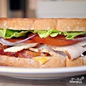 Клубный сэндвич - фото шаг 7