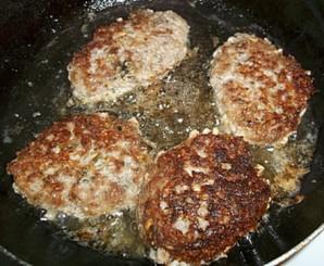 Котлеты мясные с овсяными хлопьями - фото шаг 4