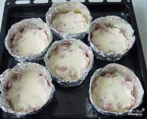 Куриное филе в фольге в духовке - фото шаг 6