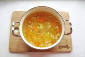 Куриный суп с зеленью - фото шаг 5