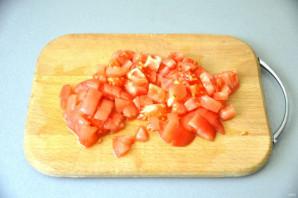 Мильфей с мясом, гречкой и овощами - фото шаг 9
