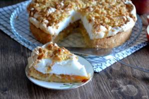 Польский пирог с яблоками и безе - фото шаг 18
