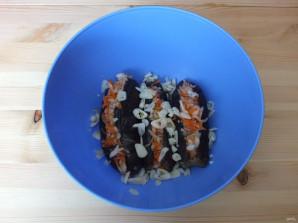 Квашеные баклажаны с капустой - фото шаг 10