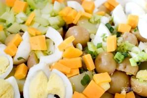 Салат с картофелем и сельдереем - фото шаг 3