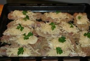 Запеченная свинина со сливочно-грибным соусом - фото шаг 3