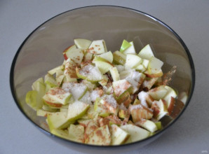 Пирожки с яблоками на кефире - фото шаг 5