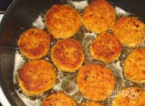 Сырники из манки без творога - фото шаг 5