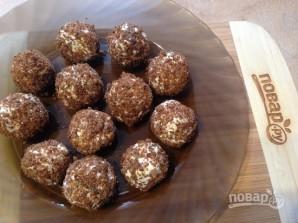 Шарики из брынзы с оливками в хлебных крошках - фото шаг 7