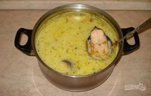 Рыбный суп без картошки - фото шаг 3
