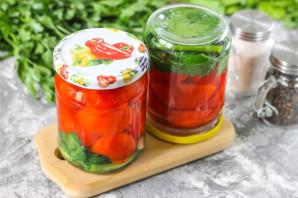 Резанные помидоры с маслом на зиму - фото шаг 7