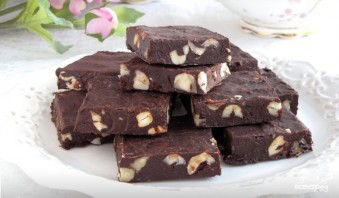 Шоколадная помадка - фото шаг 6