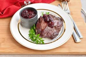 Клюквенный соус к мясу - фото шаг 7