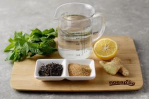 Согревающий чай с имбирем - фото шаг 1