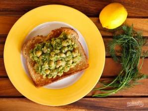 Салат из авокадо и нута - фото шаг 3