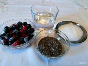Ягодный пудинг с семенами чиа - фото шаг 1