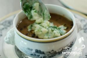 Суп с фасолью и огурцами - фото шаг 17