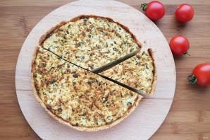 Киш со шпинатом и сыром - фото шаг 14