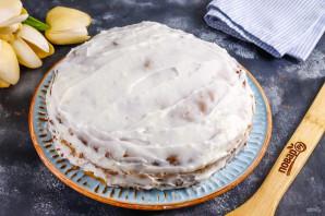 Песочный торт с орехами - фото шаг 7