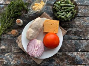 Салат из стручковой фасоли с мясом - фото шаг 1