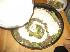 Пирог с мясом и капустой   - фото шаг 5