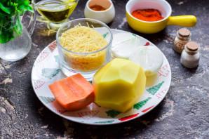 Постный суп с вермишелью - фото шаг 1