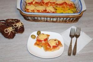 Горбуша с помидорами и сыром в духовке - фото шаг 12