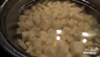 Постный грибной суп из шампиньонов - фото шаг 2