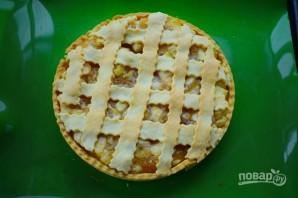 Яблочный пирог-чизкейк - фото шаг 10