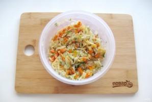 Жареные картофельные пирожки с квашеной капустой - фото шаг 6
