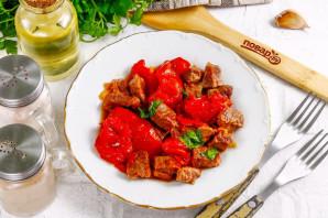 Тушеная говядина с вялеными помидорами - фото шаг 10