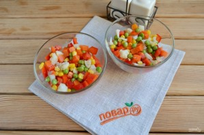Вегетарианское заливное к Новому Году - фото шаг 6