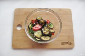 Закуска с баклажанами и чесноком - фото шаг 12