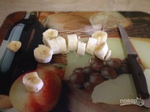 """Коктейль """"Молочный"""" с мороженым и бананом - фото шаг 1"""