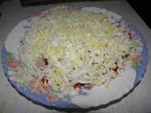 Салат с кальмарами и грибами - фото шаг 7