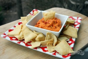 Хумус с запеченным перцем - фото шаг 5