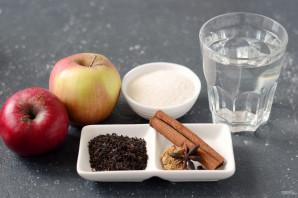 Холодный яблочный чай - фото шаг 1