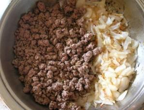 Хачапури с мясом в духовке - фото шаг 5