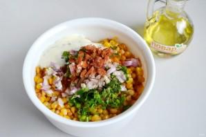 Мексиканский салат из кукурузы - фото шаг 6