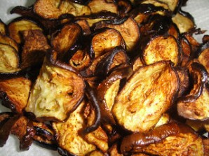 Салат из баклажанов с гранатом - фото шаг 3