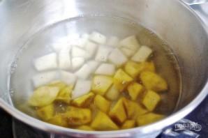 Салат с картофелем и тунцом - фото шаг 2