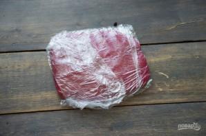"""Пирожное """"Шу"""" с вишневым конфи - фото шаг 3"""
