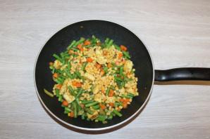 Рис с курицей и фасолью - фото шаг 8