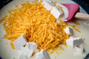 Запеканка с сыром, фасолью и ветчиной - фото шаг 2