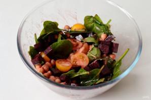 Салат из нута и свеклы - фото шаг 7