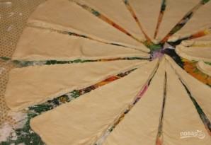 Слоеное дрожжевое тесто для выпечки - фото шаг 7