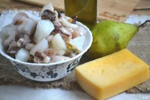 Морской салат с кальмарами и креветками - фото шаг 1