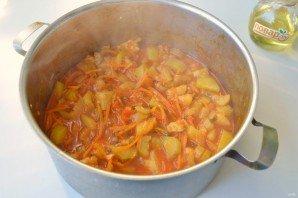 Салат из кабачков и огурцов - фото шаг 7
