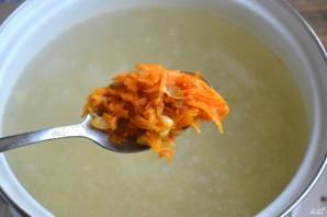 Суп с фрикадельками и яйцом - фото шаг 7