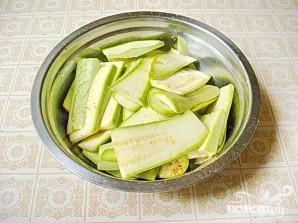 Жареные кабачки с чесночным соусом - фото шаг 1